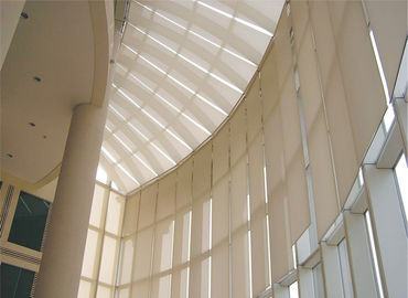Internal Tension Sun Shades Remote Skylight Roof System